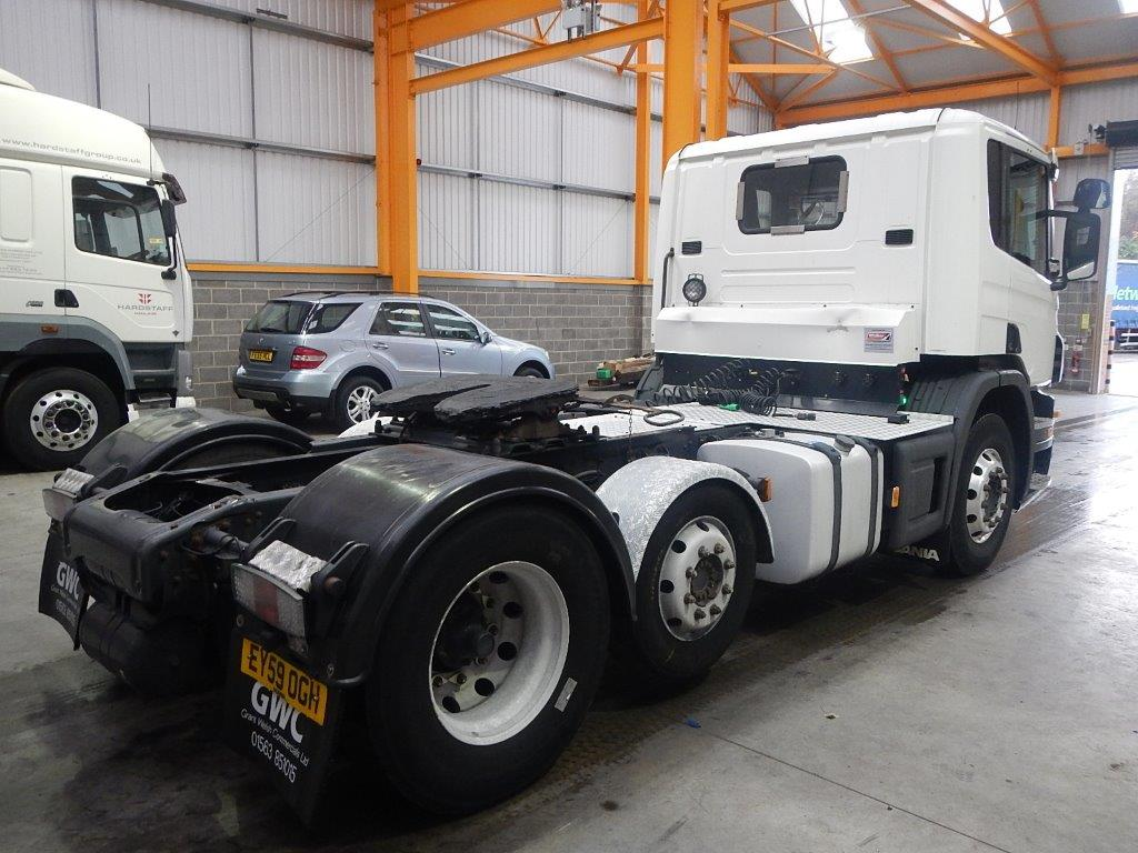 SCANIA P400 EURO 5 PET REGS 6 X 2 DAY CAB TRACTOR UNIT