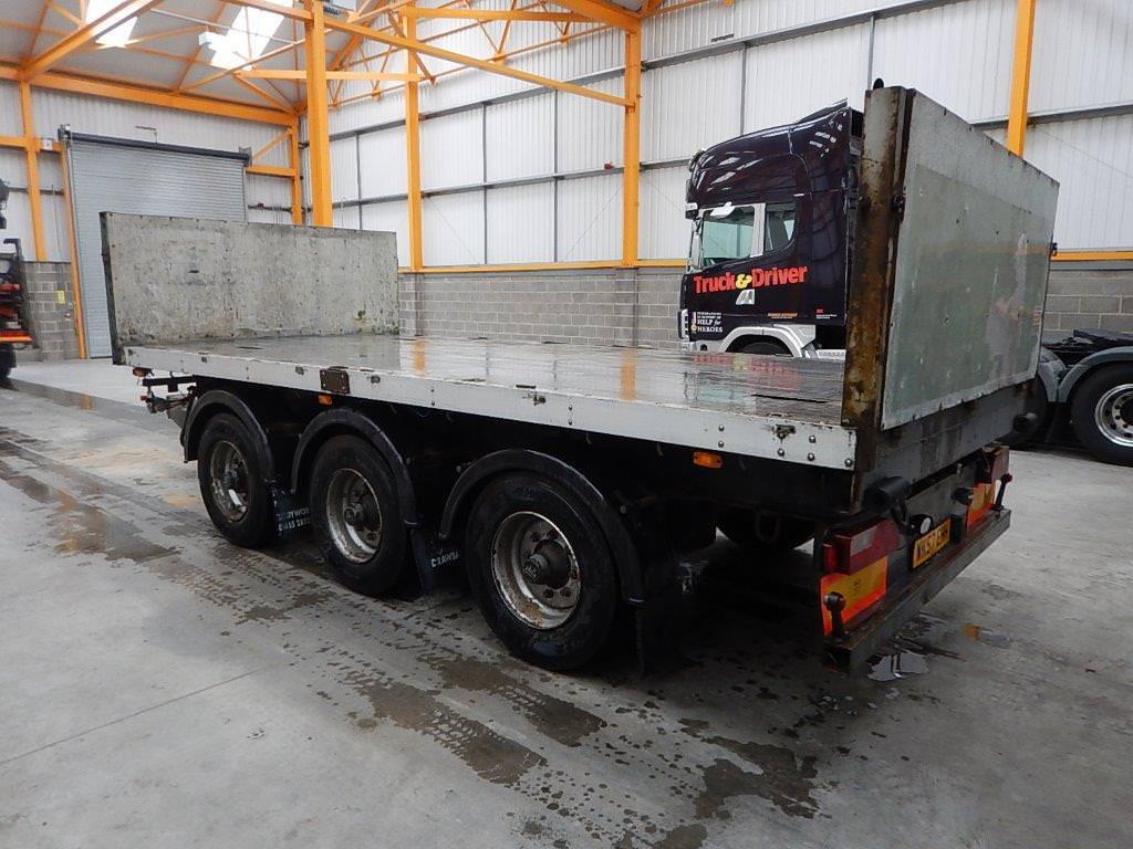 Tri Axle Flatbed : Kelberg tri axle flatbed drawbar trailer c